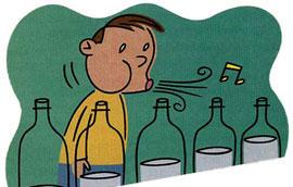 Música 'embotellada' un experimento de National Geographic Kids (Sounds Great: Bottled Music)