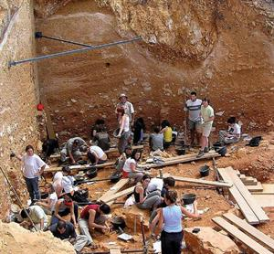 El yacimiento de Atapuerca