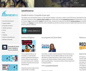 Canal recerca: una web para la investigación en bachillerato. Fundación Ersilia