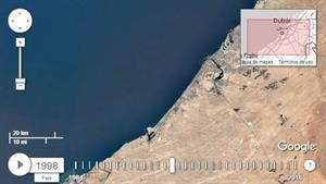 Google Timelapse mejorado para ver cambios en ciudades, paisajes y territorios