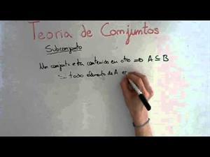 5 Teoria de Conjuntos || Definición de Subconjunto