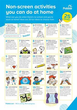 25 actividades simples y divertidas sin pantallas que los niños pueden hacer en casa