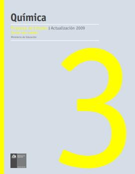 Planes y programas Química Tercer Año Medio (Educarchile)
