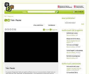 Tubs i flautes (Edu3.cat)