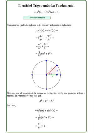 Identidades trigonométricas fundamentales (Mates Fácil)