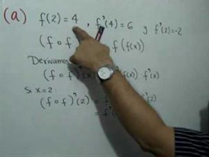 Ejercicio sobre derivadas (JulioProfe)