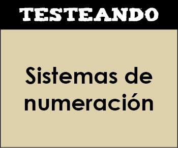 Sistemas de numeración. 5º Primaria - Matemáticas (Testeando)