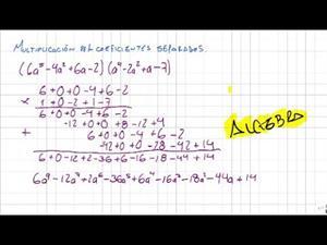Multiplicacion de polinomios por coeficientes separados