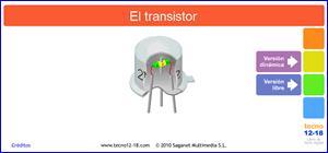 El transistor, una unidad didáctica interactiva