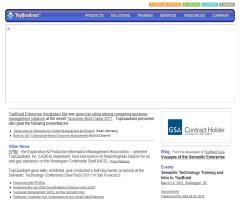 TopQuadrant: una empresa de software que aplica tecnologías de la web semántica