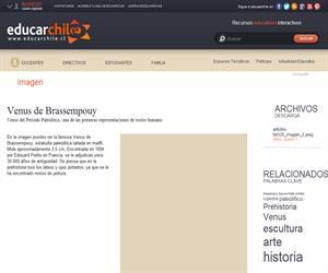 Venus de Brassempouy (Educarchile)