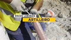 Artilleiro - Riscos laborais
