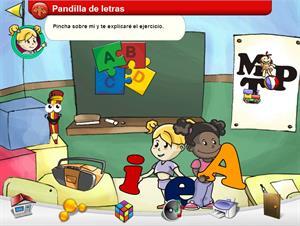 Pandilla de letras . El alfabeto para Educación Especial
