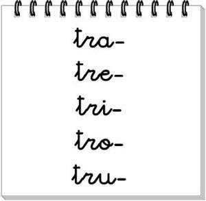 "Actividades logopedia: palabras con ""r"" y con ""rr"", palabras con trabadas."