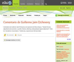 Comentario de Guillermo Jaim Etcheverry