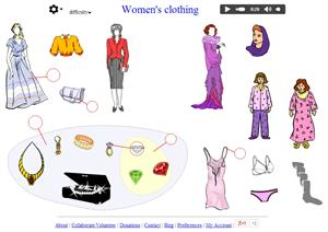 Women's clothing (languageguide.org)