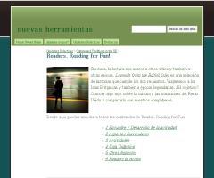 Readers. Reading for Fun! - nuevas herramientas