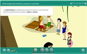 Determinantes (demostrativos, posesivos y personales)
