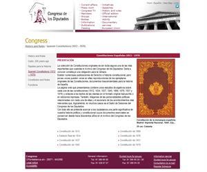 Las Constituciones Españolas de 1812 a 1978