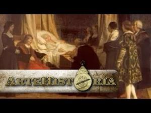Doña Isabel la Católica dictando su testamento, Eduardo Rosales
