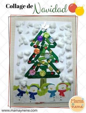 Collage de Navidad (Mamá&nené)
