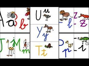 Aprendemos el abecedario cantando con animales