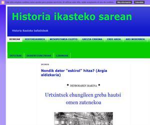 Historia ikasteko sarean