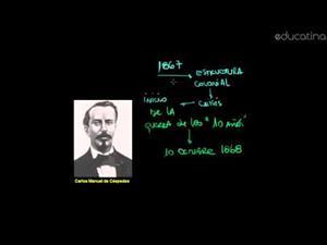 Cuba: 1868. Inicio de las Guerras de la Independencia
