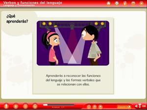 Objeto Digital de Aprendizaje. Verbos y Funciones del Lenguaje (Educarchile)