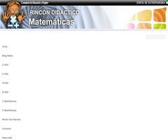 Web de recursos matemáticos con animaciones
