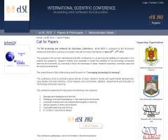 VIII Congreso sobre eLearning y Software para la educación (eLSE 2012)