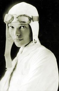 Amelia Earhart, la web oficial de la pionera aviadora