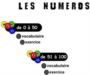 Les numéros: aprender los números en francés