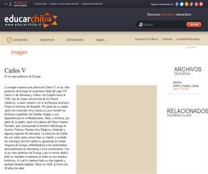 Carlos V (Educarchile)