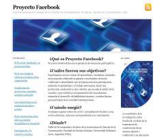Proyecto Facebook. Una herramienta de trabajo de la Cátedra de Procesamiento de Datos (Carrera de Comunicación, UBA)