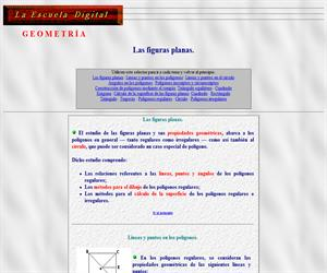 Las figuras planas (la escuela digital)