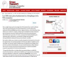 Los CMS como pieza fundamental en el despliegue de la Web semántica | ThinkEPI