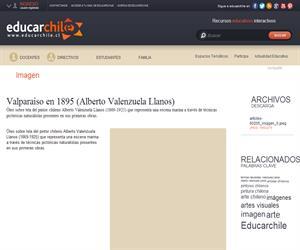 Valparaíso en 1895 (Alberto Valenzuela Llanos) (Educarchile)