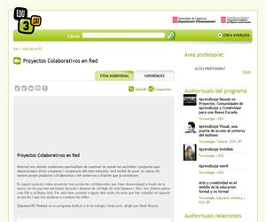 Proyectos Colaborativos en Red (Edu3.cat)