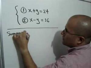 Problema con dos ecuaciones simultáneas (JulioProfe)