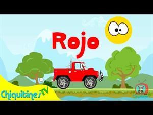 Canción Infantil: Aprende los colores con camiones (ChiquitinesTV )