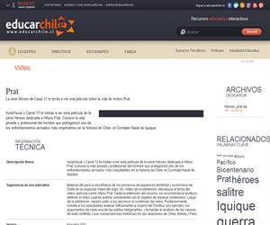 Arturo Prat (Educarchile)