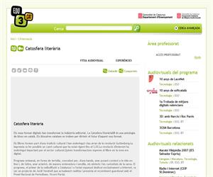 Catosfera literària (Edu3.cat)