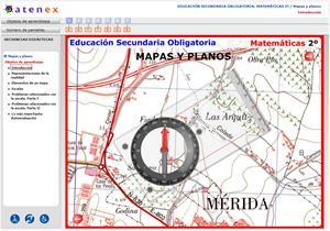 Mapas y planos. Matemáticas 2º Secundaria