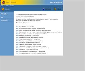Filosofía y Ciudadanía (1º Bachillerato). Instituto de Tecnologías Educativas