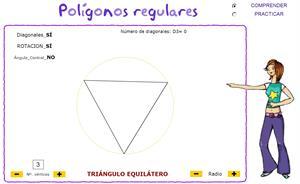 Figuras planas. Polígonos regulares