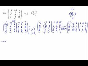 Cálculo de la matriz inversa - Método de Gauss
