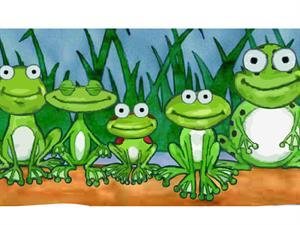 Frogs on a log, ranas cantoras (educarm.es)