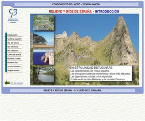 Relieve y ríos de España – Conocimiento del medio – 3º Ciclo de E. Primaria – Unidad didáctica.