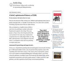 bobdcblog: webblog de Bob DuCharme sobre tecnología para representar y vincular información